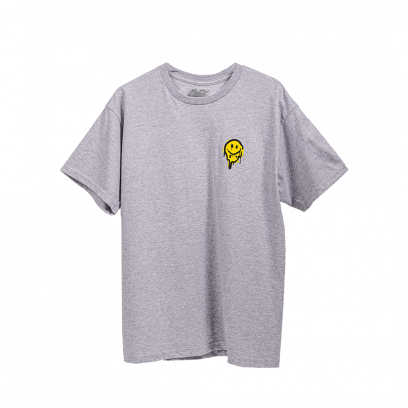 T-shirt Smiley, grey