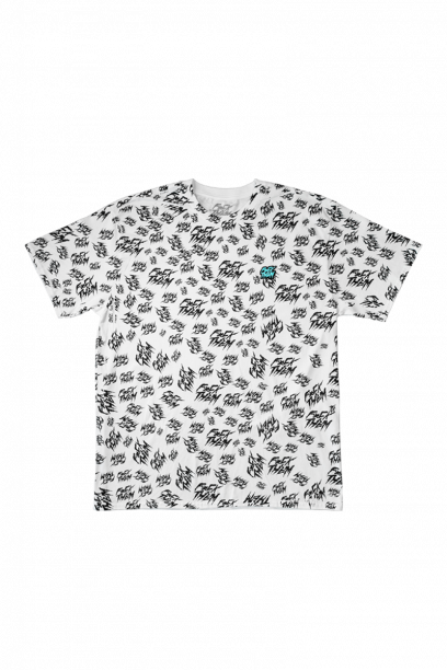T-shirt All over print Tee, White
